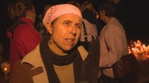 Candace Hill says attending the vigil was too difficult for Brittany's parents.
