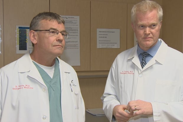 Dr. David Petrie and Dr. Andrew Travers