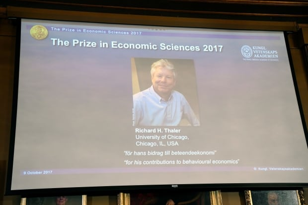 Nobel Prize-winning economist Thaler says he's nervous about stock market