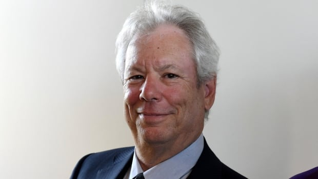U.S. economist Richard Thaler, shown here in 2014, was named the winner of the Nobel Prize in economics on Monday for his work to bridge the gap between economics and psychology.