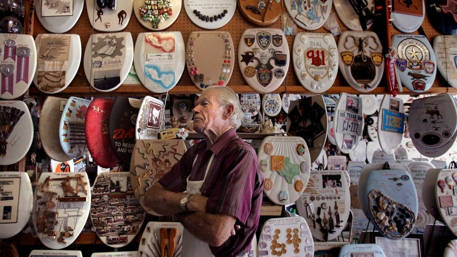 Barney Smith, 96, is selling his epic toilet seat collection, which currently stands at 1,322 individual pieces.