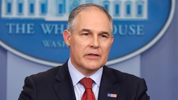 EPA Administrator Scott Pruitt says he will sign a proposed rule on Tuesday 'to withdraw the so-called Clean Power Plan of the past administration.'