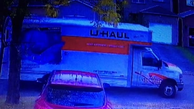 Investigators are asking for information about this U-Haul moving truck seen in the area of the attack. York police homicide squad has taken over the case.