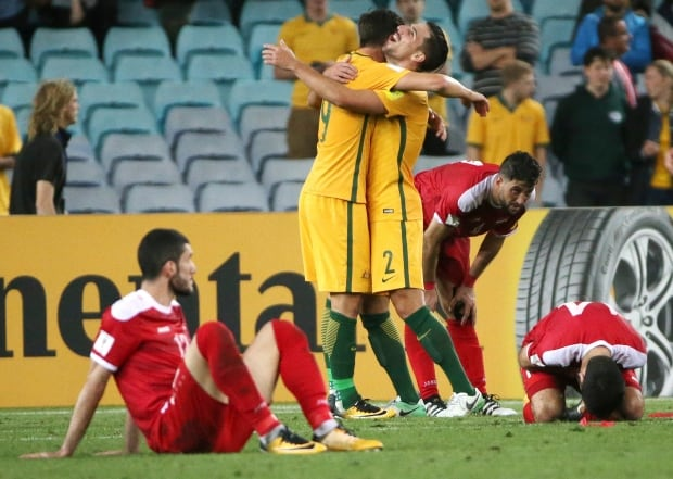 Australia Syria WCup Soccer