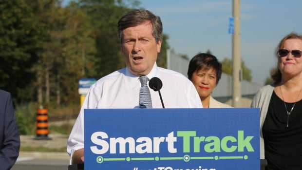 Mayor John Tory admitted Tuesday awareness about SmartTrack was low, but he expects that will gain momentum after this week's public consultations.