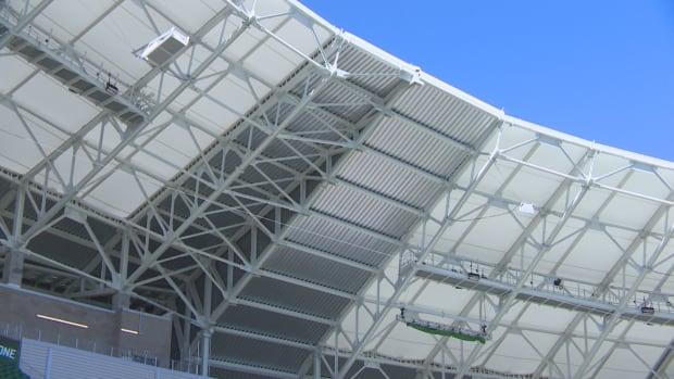Vents at Mosaic Stadium in Regina