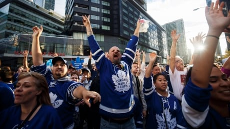 Toronto Maple Leafs Fans Excited