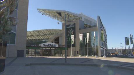 North side of Mosaic Stadium