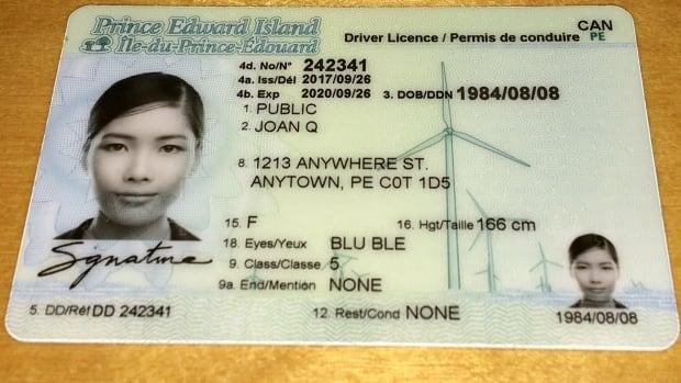 Prince Edward Island Driver S Licence