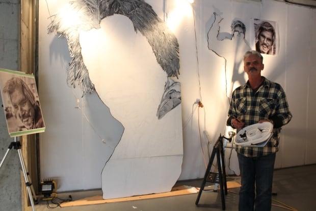 Terry Pamplin mural