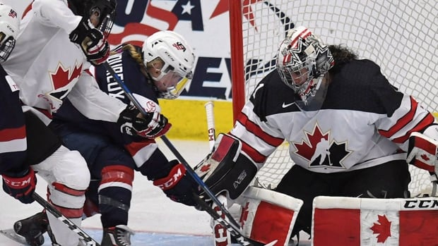 Edmonton will host the finale of a six-game pre-Olympic series between Canada and the United States.