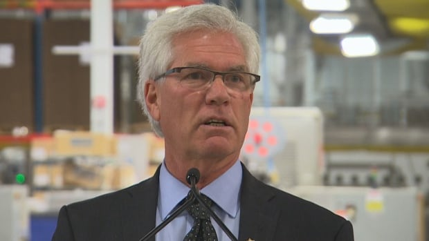 Natural Resources Minister Jim Carr is urging Canada's industry sector to become more energy efficient.