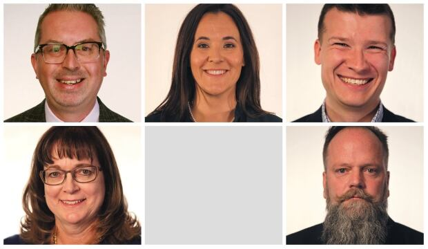 Ward 11 candidates collage