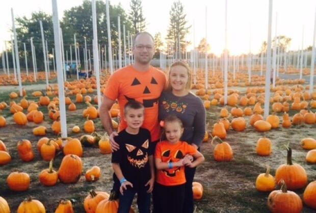 Brad Sherwood and family