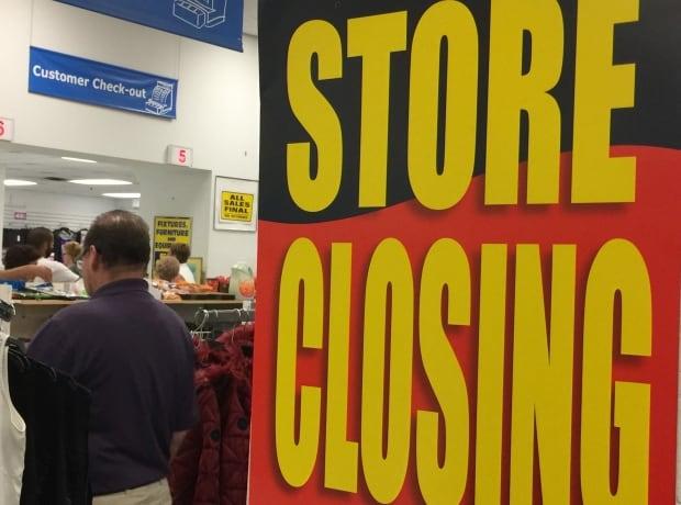 Sears Canada closing store
