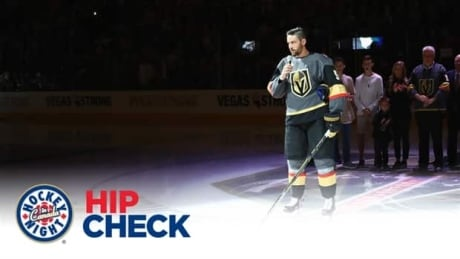 Engelland and the Golden Knights honour Las Vegas before their inaugural home opener