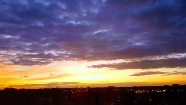Morning skies in Ottawa.
