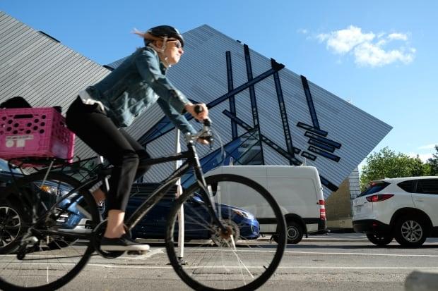 Toronto Bloor Street Bike Lane ROM
