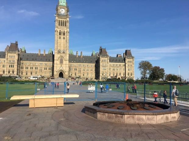 parliament hill centennial flame construction nunavut