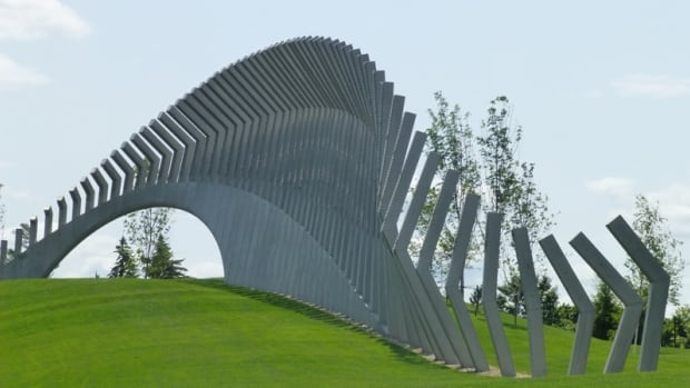 'Moving Surfaces' was installed at Lansdowne Park in September 2014.