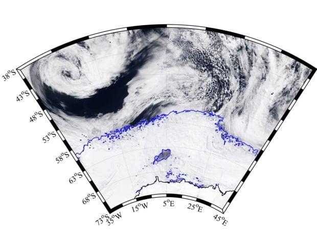 Weddell Sea polynya 2017