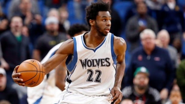 The situation between the Minnesota Timberwolves and Andrew Wiggins seen above dragged out over the summer but the Canadian forward and the NBA club finalized a five-year deal on Wednesday