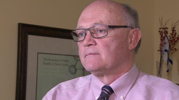 Nova Scotia chief public health officer Dr. Robert Strang
