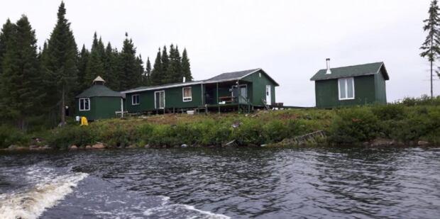 Wilson Lake camp