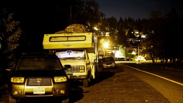STOCK VANLIFE CAMPER VAN LIVING HOUSING AFFORDABILITY VANCOUVER