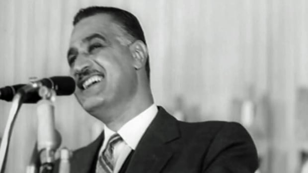 Gamal Abdel Nasser was president of Egypt from 1956 to 1970.
