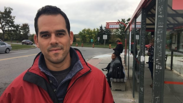 Trevor Haché of the Healthy Transportation Coalition plans to ask Ottawa city councillors to freeze transit fares and raise parking rates instead.