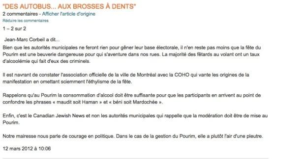 Jean-Marc Corbeil comment