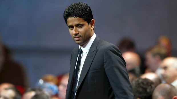 President of Paris Saint-Germain soccer club Nasser Al-Khelaifi is suspected by Swiss prosecutors of bribing a FIFA executive to get World Cup broadcasting rights.