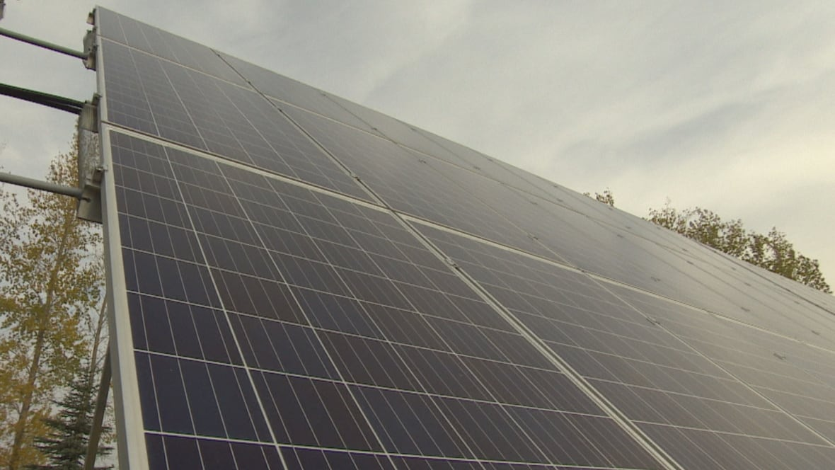 Winnipeg S Largest Solar Installation Unveiled At