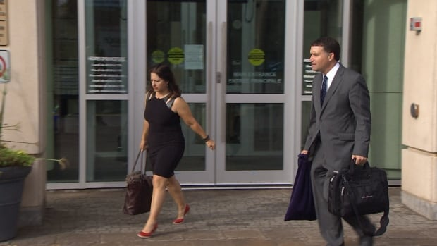Helene Beaulieu and George Cooper, lawyers for Irving Pulp and Paper Ltd. in Saint John, will make a Charter challenge part of the company's defence against 15 pollution charges.