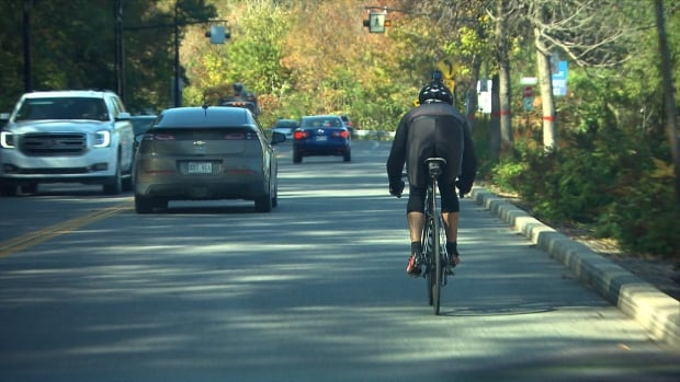 The City of Montreal's interim safety measures aim to reduce illegal U-turns along Camillien-Houde Way and provide greater protection for the many cyclists who train there.