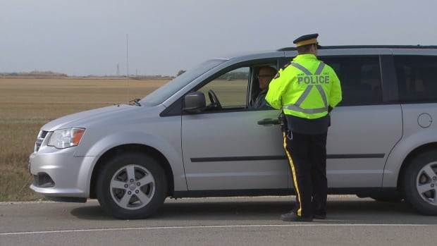 Manitoba RCMP are stepping up efforts to catch and ticket drivers who don't slow down and change lanes when passing emergency vehicles.