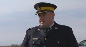RCMP Inspector Ed Moreland