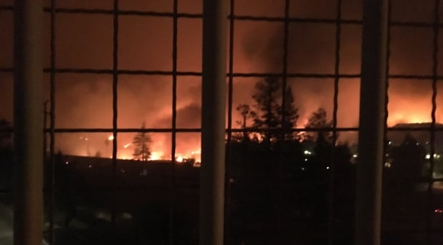 California fire in Santa Rosa