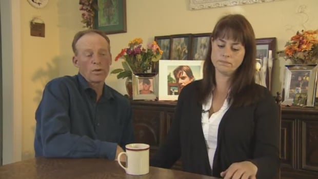 Frederick and Eileen Bjornson, shown here in an earlier CBC interview, remembered their son as a 'true northern boy' who was always willing to help others.