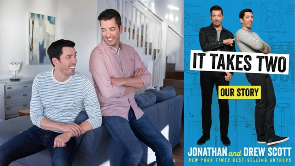HGTV's Property Brothers Jonathan and Drew Scott follow up their bestseller, Dream Home, with a memoir.