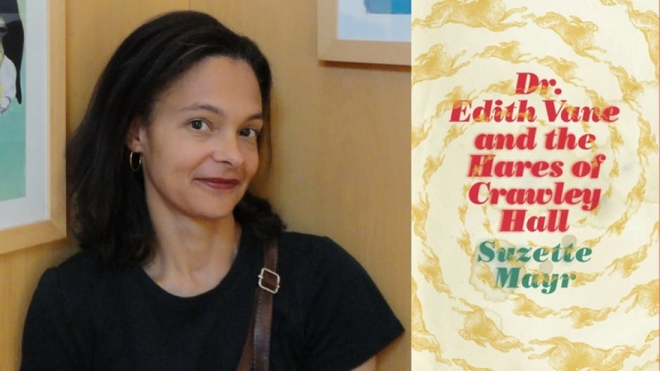 Dr. Edith Vane and the Hares of Crawley Hall is Suzette Mayr's fifth novel.