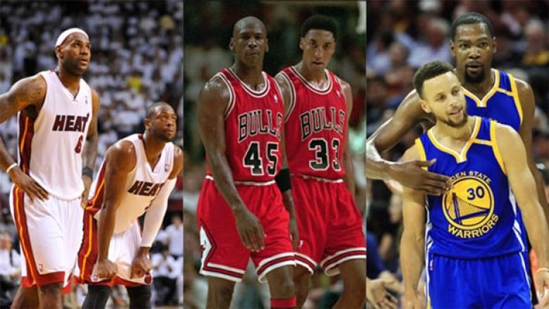 free shipping d523e 34c12 Apologies to Michael Jordan, but the NBA's super team ...