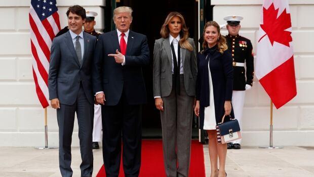 Donald Trump Justin Trudeau TRADE NAFTA