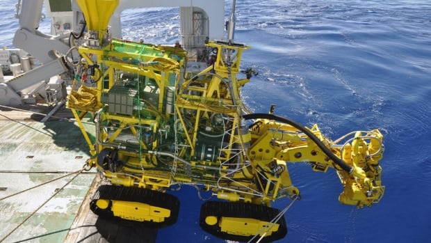 Japan successfully tests their deep sea mining equipment