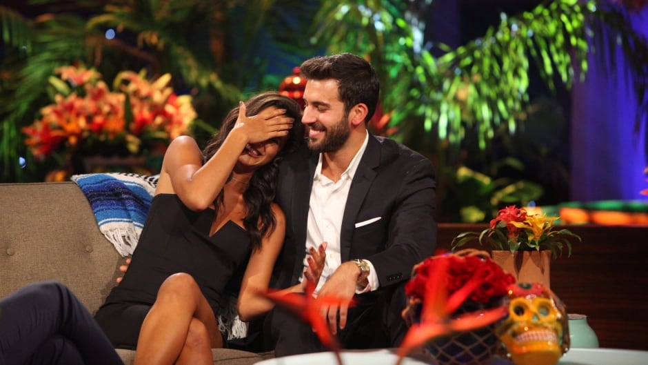 Taylor Nolan and Derek Peth on ABC's The Bachelor in Paradise