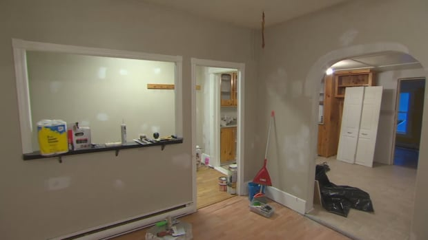 Matthew and Nicole Cross were left to fix up their entire house, after both apartments were trashed by tenants.