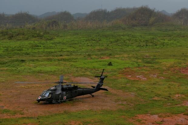 USA-PUERTORICO/HELICOPTER