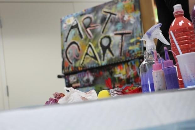 Art Cart CAMH