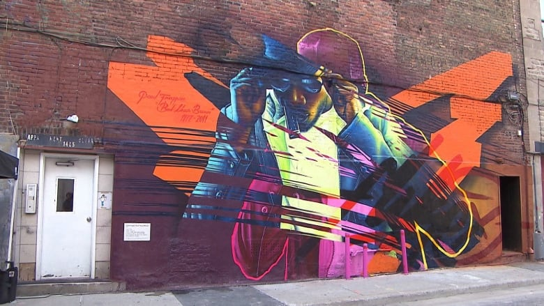 Memory Of Bad News Brown Honoured With Fresh New Mural Cbc News